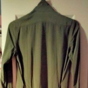 Green polo dress
